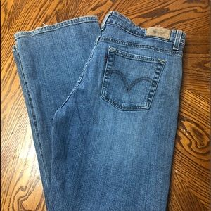 Women's Levi's 515 Boot Cut Jeans Size 14P